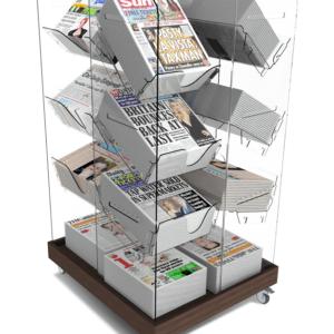 Newspaper and Magazine Displays