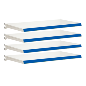 Pack of 4 complete shelves for Evolve S50i - Jura & Blue