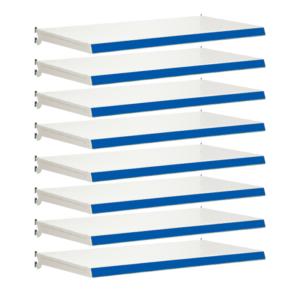 Pack of 8 complete shelves for Evolve S50i - Jura & Blue