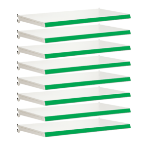 Pack of 8 complete shelves for Evolve S50i - Jura & Green
