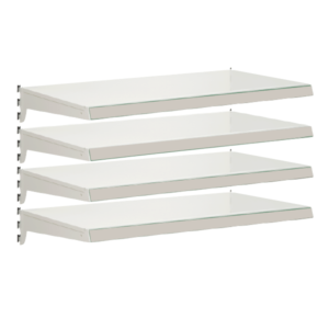 Pack of 4 complete heavy duty shelves for Evolve S50i - Jura