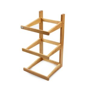 SP075 - 3 Tier Counter-Top Stand - Wooden Stand Only