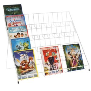 Flat Pack Greeting Card Counter Stand for mixed sizes cards