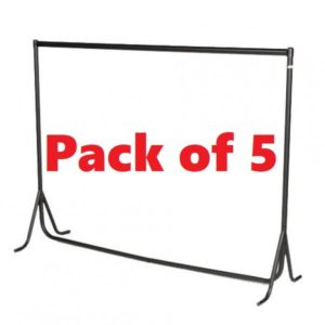MultiPack of 4ft Fishtail Clothes Rails