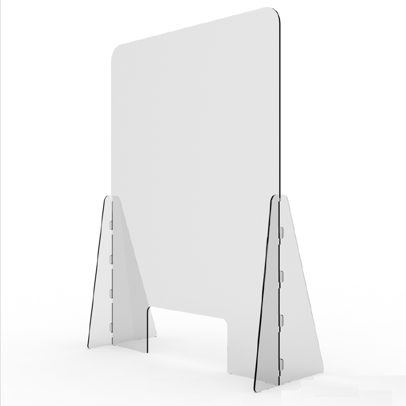 3 Sizes Available 600 x 600 mm Suspended Protection Barrier Hanging Perspex Screen Sneeze Guard Clear Acrylic Plastic Shop Counter Shield